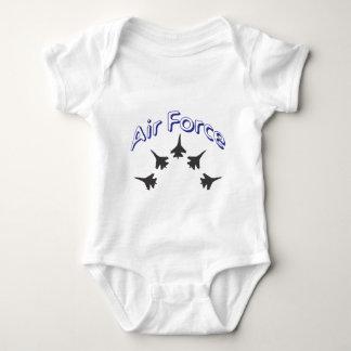 Body Para Bebê Força aérea