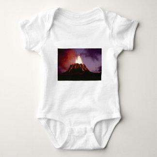 Body Para Bebê força do vulcão