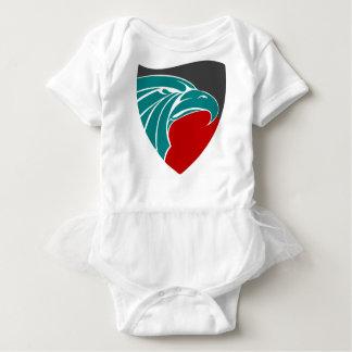 Body Para Bebê Força e orgulho de Eagle
