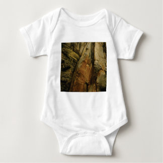 Body Para Bebê forma e formulário da rocha