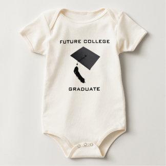 Body Para Bebê Formando futuro da faculdade do bebê