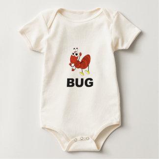 Body Para Bebê formiga do inseto