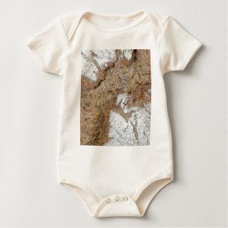 Body Para Bebê Foto macro da superfície do pão de mistura