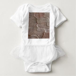Body Para Bebê Foto macro do latido do pinho