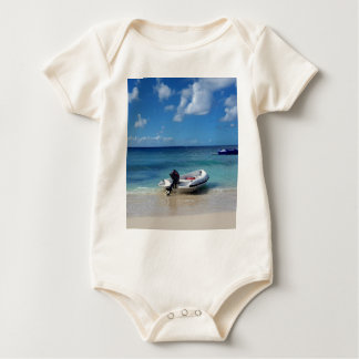 Body Para Bebê Fotografia das caraíbas bonita do barco de