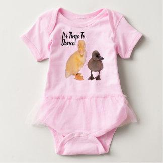 Body Para Bebê Fotografias amarelas e cinzentas doces dos