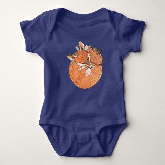 Body Para Bebê Fox do sono