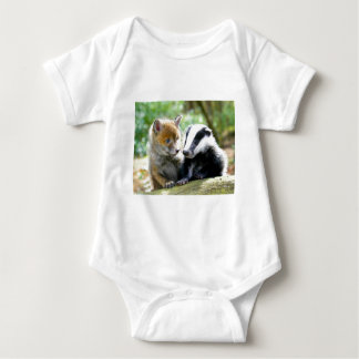 Body Para Bebê Foxcub & texugo bonitos!