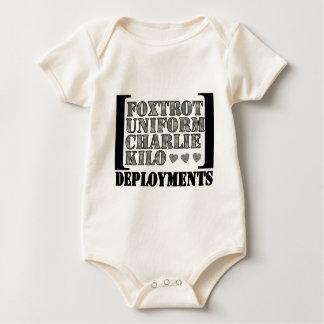 Body Para Bebê Foxtrot os desenvolvimentos