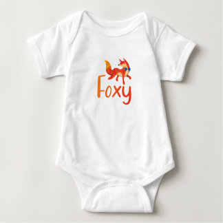 Stylish Foxy with Illustrated Fox for Baby