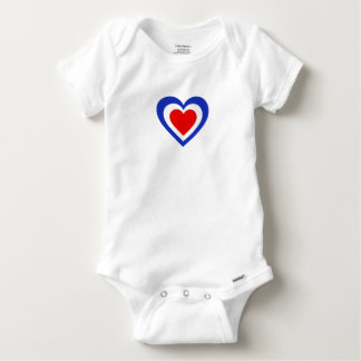 Body Para Bebê France/francês Tricolore bandeira-inspirou