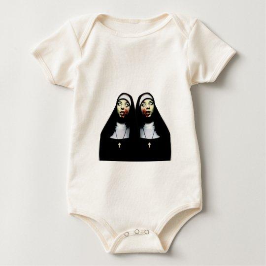 Body Para Bebê Freiras do horror