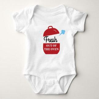 Body Para Bebê Fresco para fora o Bodysuit do bebê do forno