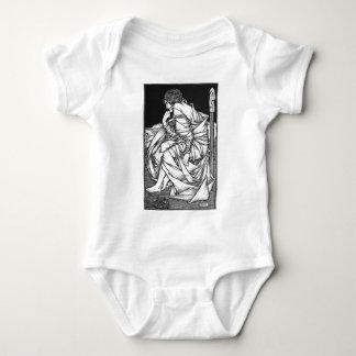 Body Para Bebê Frey assentou no trono de Odin