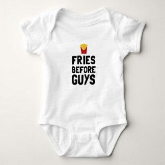 Body Para Bebê Fritadas antes das caras