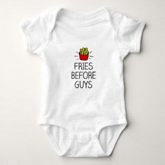 Body Para Bebê fritadas antes das caras com a maioria de