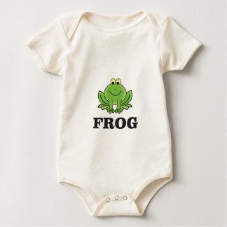 Body Para Bebê frogger do sapo