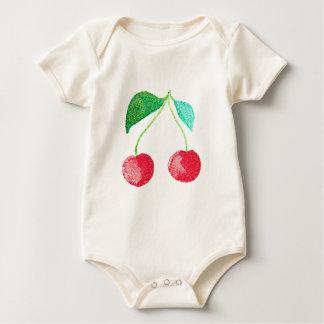 Body Para Bebê Fruta do hipster
