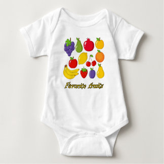Body Para Bebê Frutas