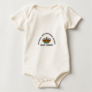 Body Para Bebê fshg três santamente