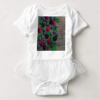 Body Para Bebê fundo da fruta de baga