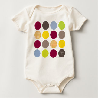 Body Para Bebê FunDots_babysuit por Rockeelicious