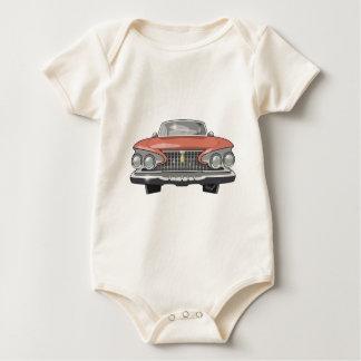 Body Para Bebê Fúria 1961 de Plymouth