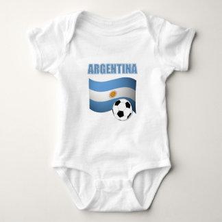 Body Para Bebê Futebol 1139 de Argentina