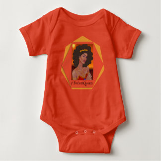 Body Para Bebê #futureQueen o Bodysuit do bebé