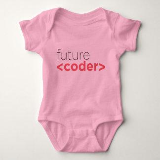 Body Para Bebê Futuro <coder> Onsie