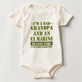 Body Para Bebê Fuzileiro naval ex