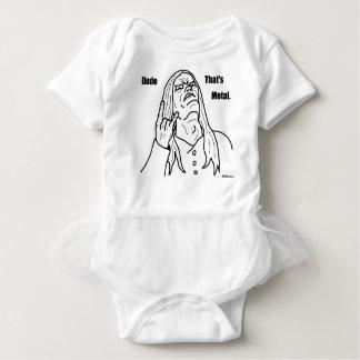 Body Para Bebê gajo que é metal