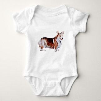 Body Para Bebê Galês Tricolor Corgi.PNG