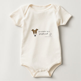 Body Para Bebê galgo
