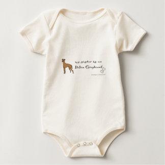 Body Para Bebê galgo italiano
