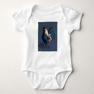 Body Para Bebê Galinha Pastel do galo
