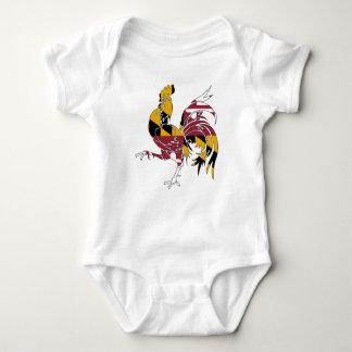 Body Para Bebê Galo de Maryland