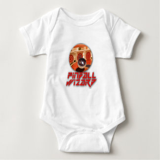 Body Para Bebê Gamer clássico - Pinball