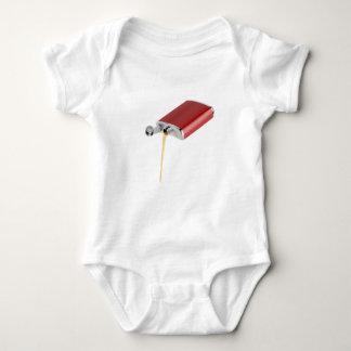 Body Para Bebê Garrafa anca