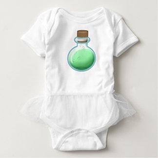 Body Para Bebê Garrafa verde da alquimia