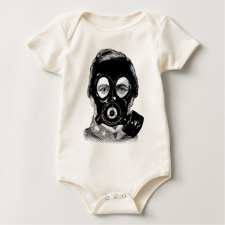 Body Para Bebê Gasmask Man