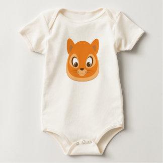 Body Para Bebê Gatinho curioso