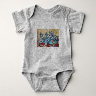Body Para Bebê Gatinho preguiçoso