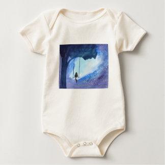 Body Para Bebê Gatinho Stargazing