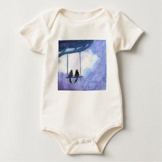 Body Para Bebê Gatinhos Stargazing