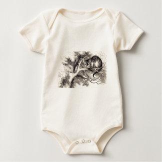 Body Para Bebê Gato de Cheshire