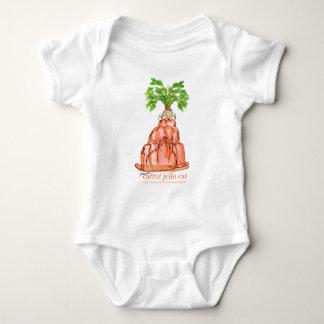 Body Para Bebê gato do jello da cenoura dos fernandes tony