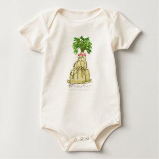 Body Para Bebê gato do jello da pastinaga dos fernandes tony