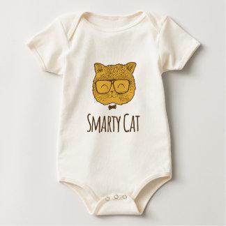 Body Para Bebê Gato do sabe-tudo