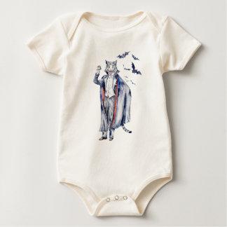 Body Para Bebê Gato do vampiro de Catula da contagem